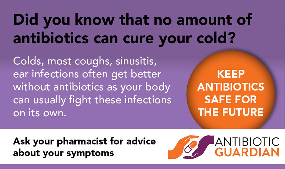 Web Banner Antibiotic Guardian campaign